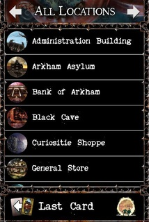 Locations Menu